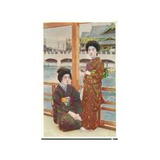 "Открытка ""Японские традиции - на террасе"""