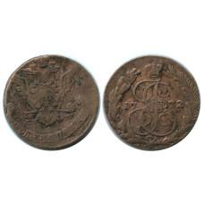 5 копеек России 1772 г. Екатерина II