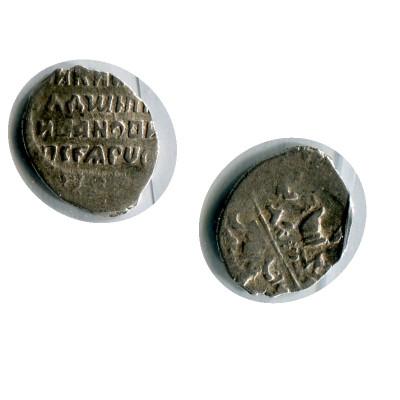 Монета Копейка Лжедмитрия I 1605-1606 Гг., 53