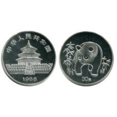 Монетовидный жетон Китайская панда 1986 г.