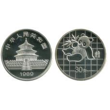 Монетовидный жетон Китайская панда 1989 г.
