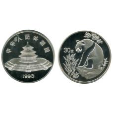Монетовидный жетон Китайская панда 1993 г.