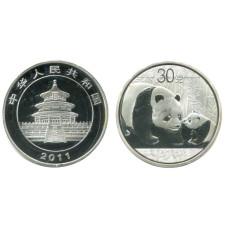 Монетовидный жетон Китайская панда 2011 г.