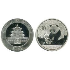 Монетовидный жетон Китайская панда 2012 г.