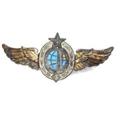Знак классность Военно-космические войска 3 класс