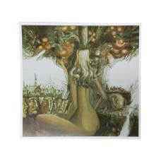 """Репродукция на жестяной пластине """"Дерево"""" (авт. Э. Шагаев )"""