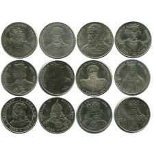 Набор памятных монет Польши серия Польские Короли